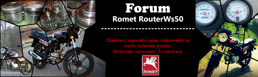 Forum Romet Router WS 50